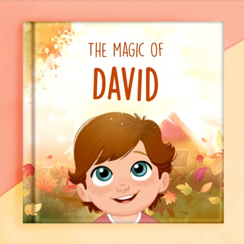 storybook with personalized cover
