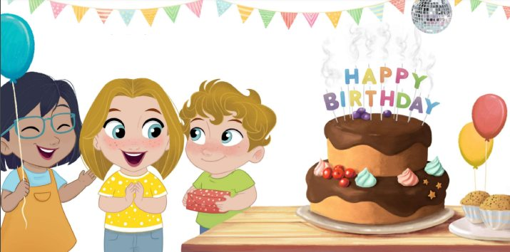 interactive personalized birthday story